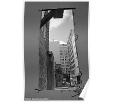 Construction Hole Poster