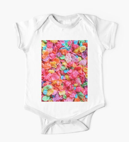 Fruity Cereal One Piece - Short Sleeve