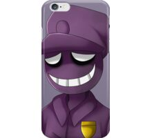 Purple Man iPhone Case/Skin