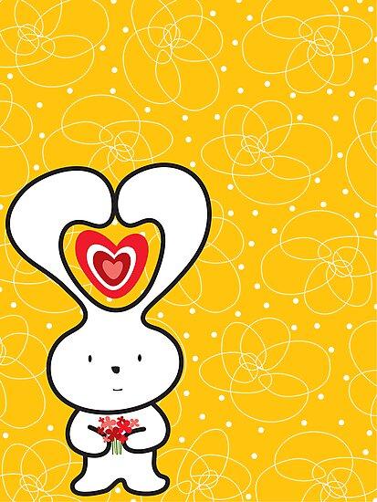 Valentine Bunny by fatfatin