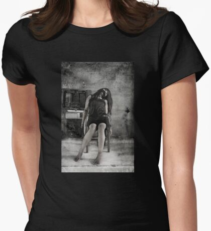 The Hostage Shirt Womens Fitted T-Shirt