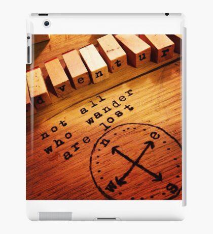Stamp set iPad Case/Skin