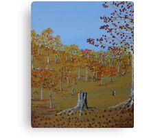 Autumn Walk Canvas Print