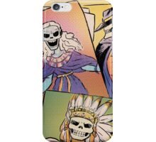 Skull-Headed Heroes iPhone Case/Skin