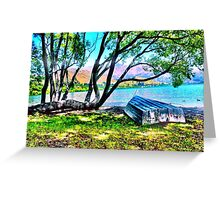Summer sailing Greeting Card