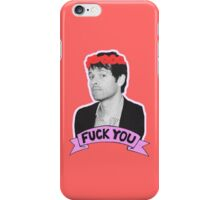 F*** you Misha Collins - 02 iPhone Case/Skin