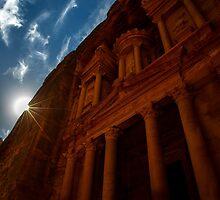 Petra Treasury by captureasecond