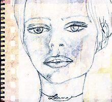 LLAMA GIRL by Dannica