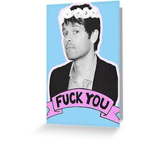 F*** you Misha Collins - 01 Greeting Card