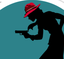 The Adventures of Detective Carter! Sticker