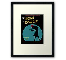 The Adventures of Detective Carter! Framed Print