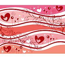Valentine Fantasy Photographic Print