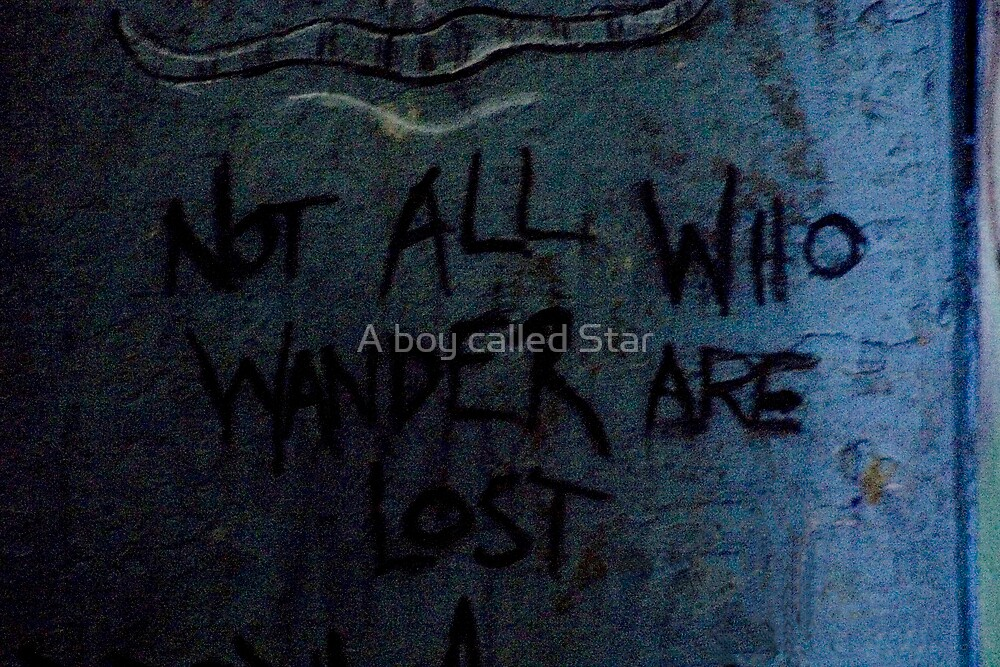 Those Who Wander. Colour by A boy called Star