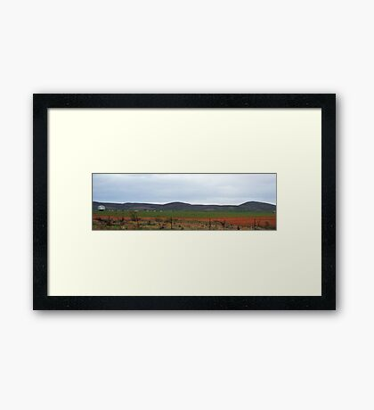 Country Outback Framed Print