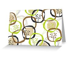 Earth Rings & Trees Greeting Card