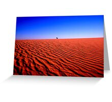 DUNE COUNTRY Greeting Card