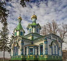 Old Wooden Church by fine