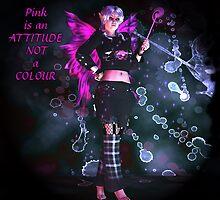 Pretty Pink Punk Pixie by twylightart