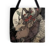 The Elk King Tote Bag