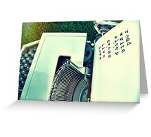 Read Write Sleep Dream Greeting Card