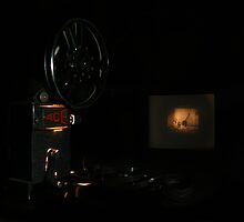 Old Ace Projector by Josie Jackson