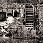 Grist Mill Water Wheel by owensdp1277