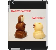 Happy Easter! iPad Case/Skin