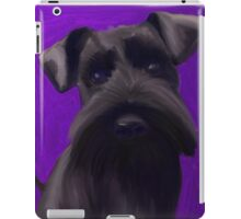 Schnauzer Puppy iPad Case/Skin