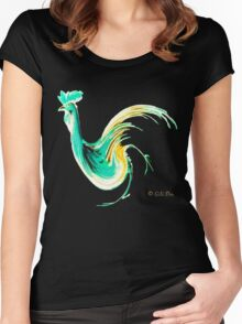 Birdy of paradise Women's Fitted Scoop T-Shirt