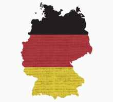 Germany Flag Map Kids Clothes