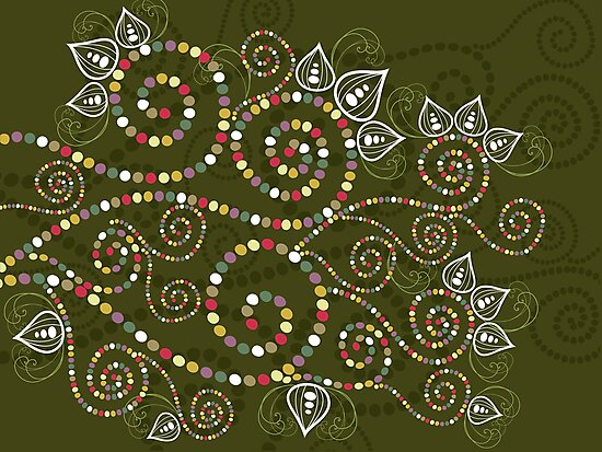 Ethnic Spiral Dreams by fatfatin