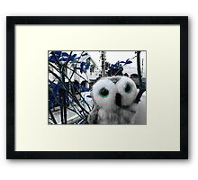 Nosy Ophelia Framed Print