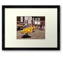Tashiling Festival #2, Eastern Himalayas, Central Bhutan  Framed Print