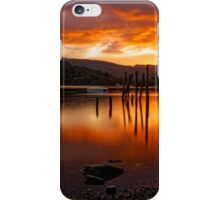 Sunset at Derwent Water iPhone Case/Skin