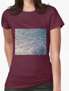 Ice Crystals Womens Fitted T-Shirt