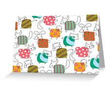 Baby Moo! Oink! Cheep! Meow! Woof! Thump! Greeting Card