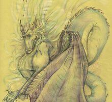 Dragon by Anastasia Zabrodina