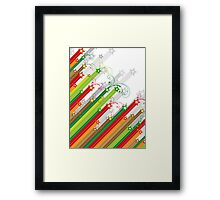 Festive Stars and Stripes Framed Print