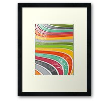 Rainbow Dance Framed Print