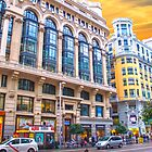 Madrid architecture. Gran Via by terezadelpilar~ art & architecture