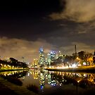 Evening on the Yarra by Vlado Kekoc