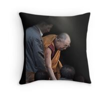 His Holiness The Dali Lama Throw Pillow