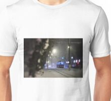 Tram On The Street 3 Unisex T-Shirt