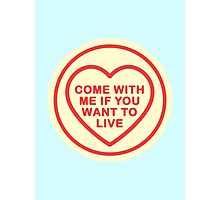 Geeky Love Hearts - Live Photographic Print