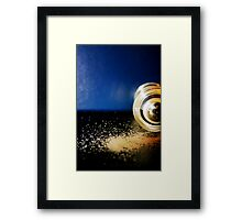 Blue Pepper Framed Print