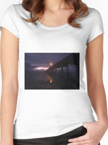 Port Hughes Jetty Pt.2 Women's Fitted Scoop T-Shirt