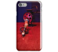 American Made Woodworker Gear Driven Hand Drill iPhone Case/Skin