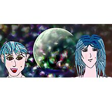 Lunar Sisters Photographic Print
