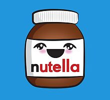Nutella face 1 by Lauramazing