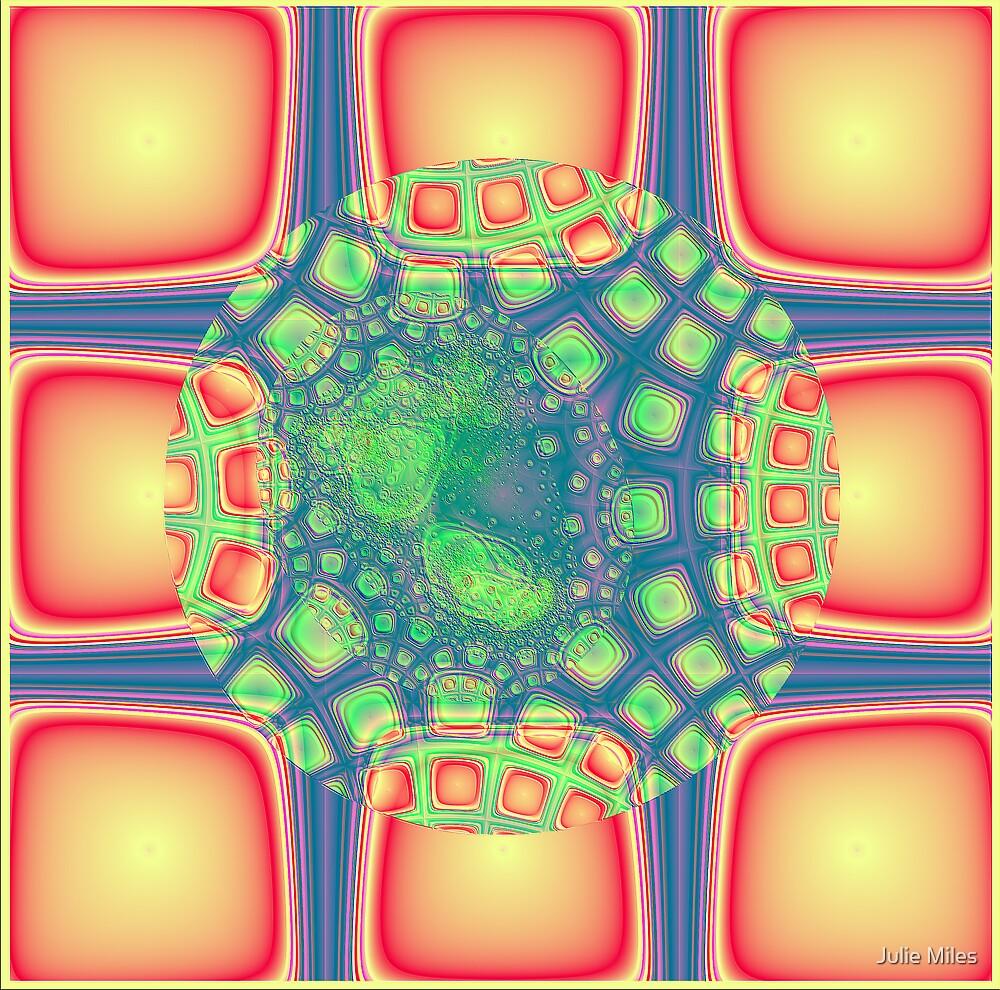 Retro Squares by Julie Miles